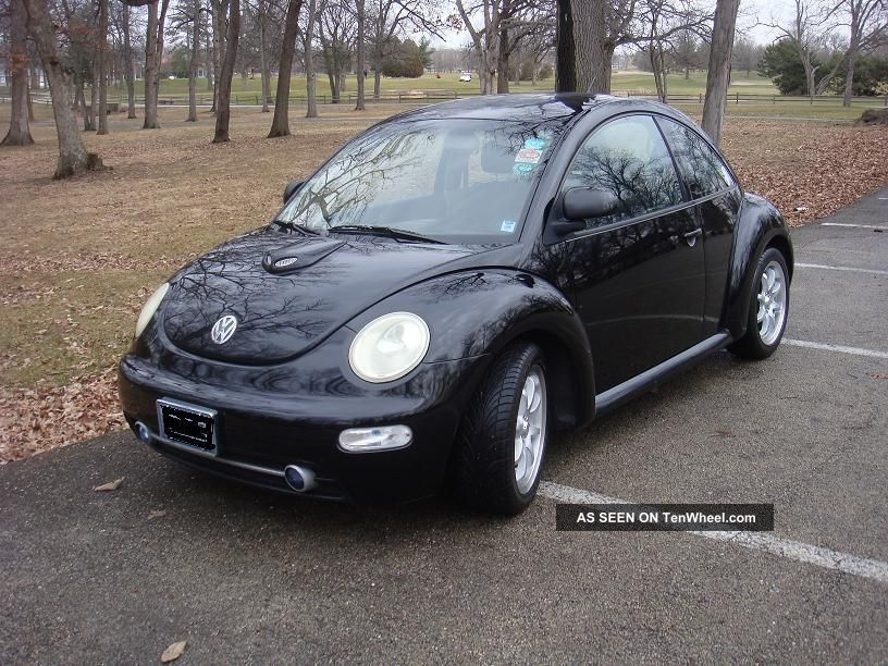 1998 Vw Beetle Custom Hood Scoop Wheels Sweet Car Great Gas Mileage