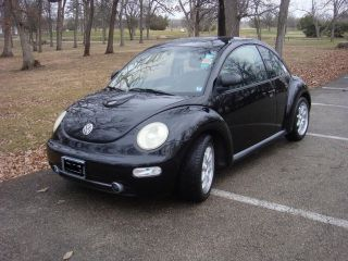 1998 Vw Beetle - Custom Hood Scoop & Wheels - Sweet Car - Great Gas Mileage photo