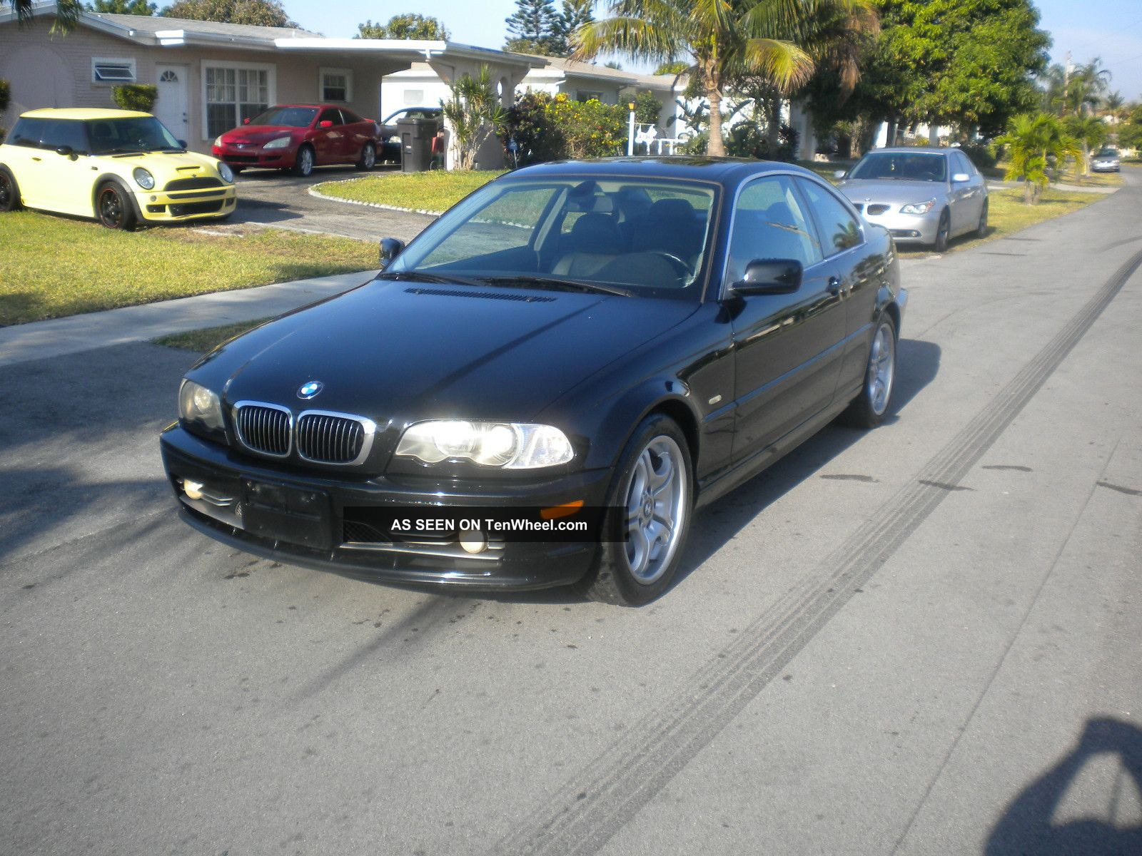 2002 Bmw 330ci Coupe Auto 2 - Door 3.  0l Black On Black Sport Package 3-Series photo