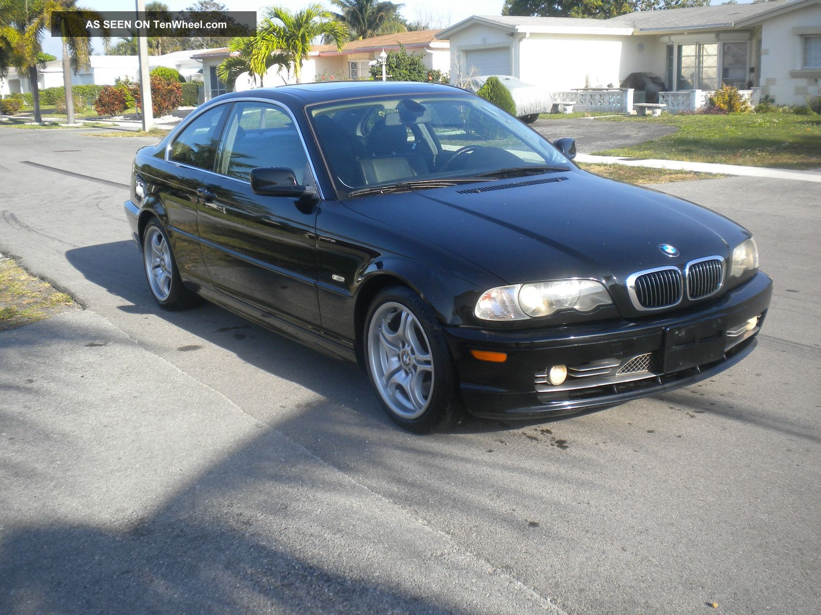 2002 bmw 330ci coupe auto 2 door 3 0l black on black sport package. Black Bedroom Furniture Sets. Home Design Ideas