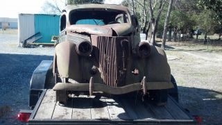 Rare 1936 Ford 2 Door Hot Rod Project photo
