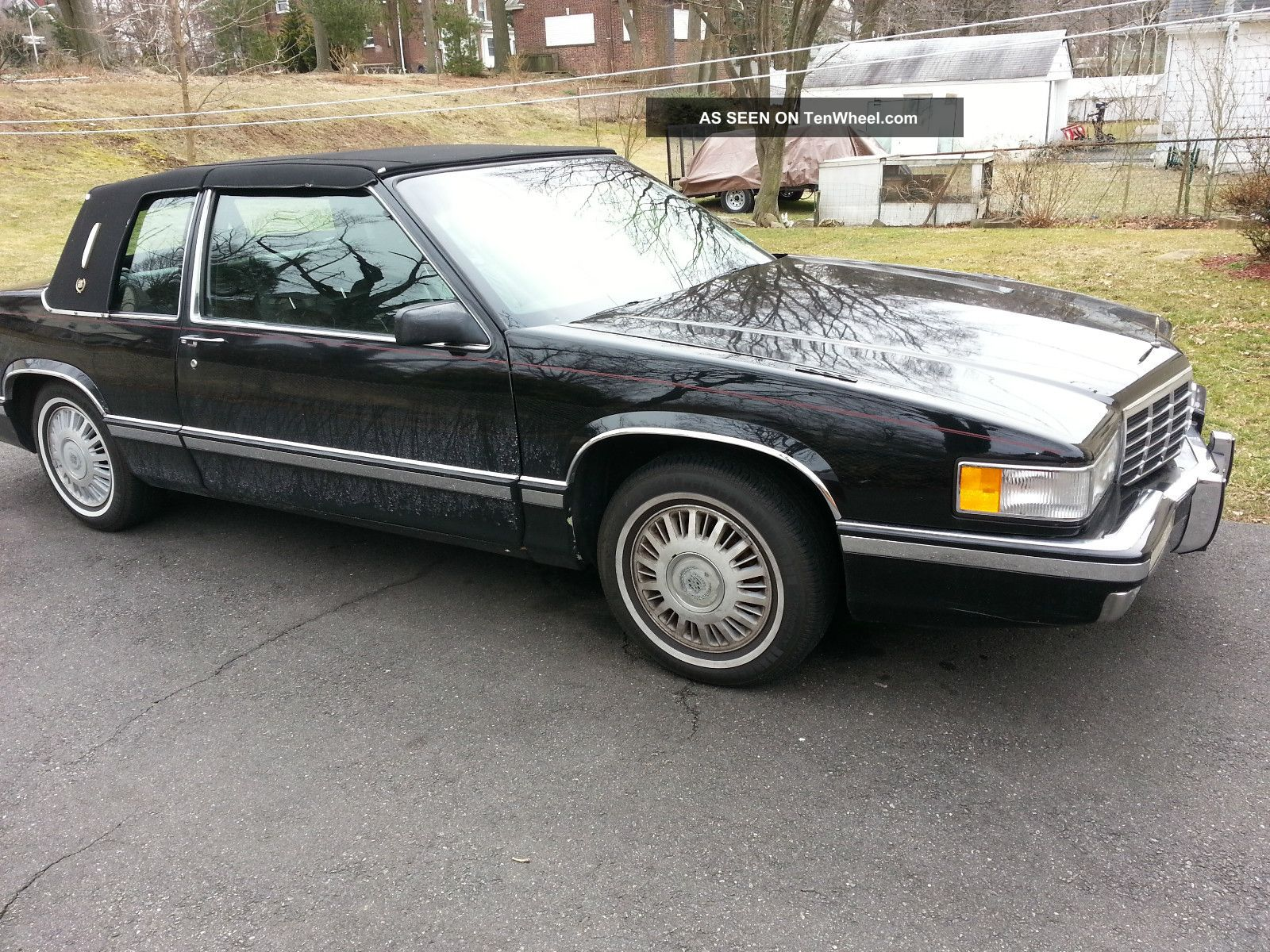 1991 cadillac deville spring edition coupe 2 door 4 9l. Cars Review. Best American Auto & Cars Review