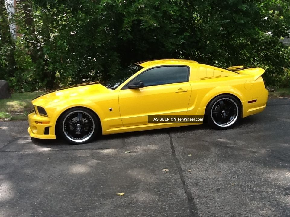 2006 ford mustang gt coupe 2 door 4 6l rousch. Black Bedroom Furniture Sets. Home Design Ideas