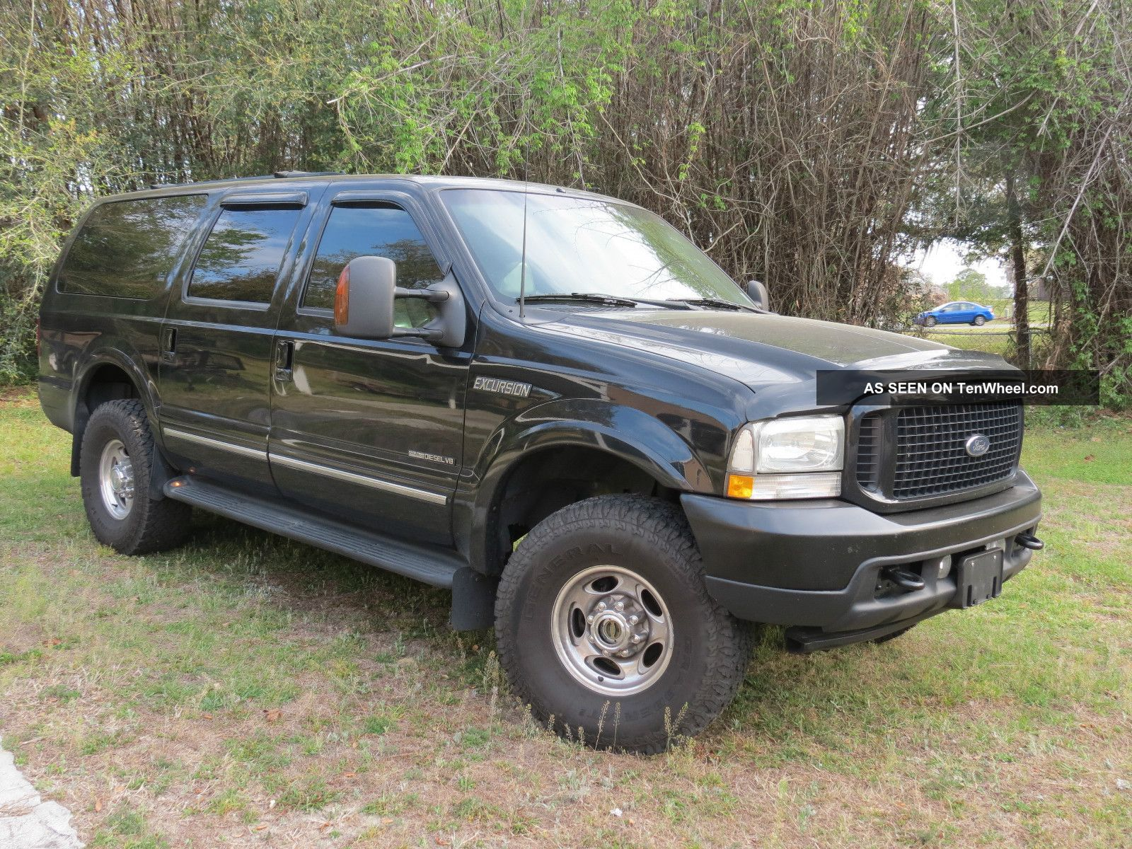 2002 Ford Excursion 7 3l Diesel 4x4 Very Limited