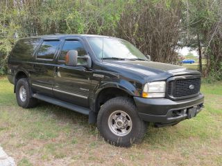 2002 Ford Excursion 7.  3l Diesel 4x4 Very Limited photo