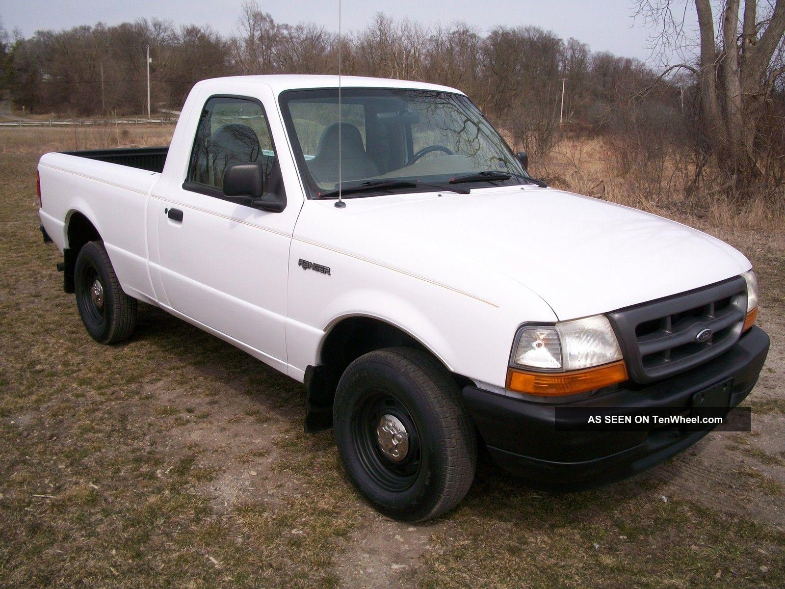 1999 ford ranger xlt standard cab pickup 2 door 2 5l