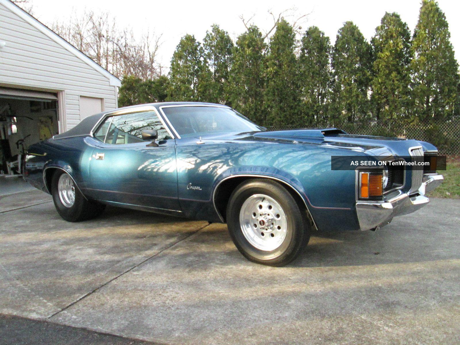1971 Mercury Cougar - Muscle Car - Prostreet / Show Car / Race Car