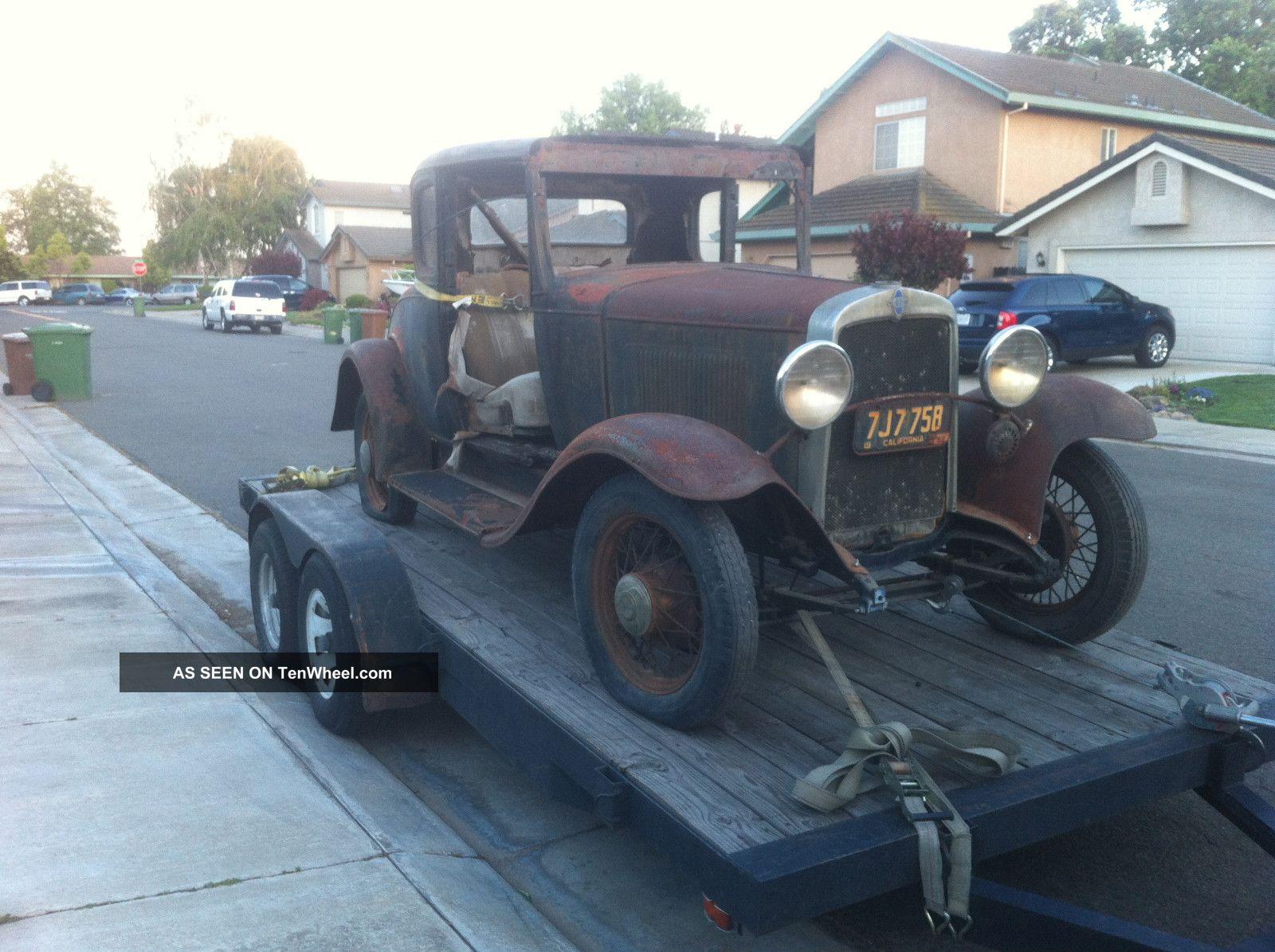 1931 Chevy 5 Window Coupe Rat Rod Hot Rod Restore