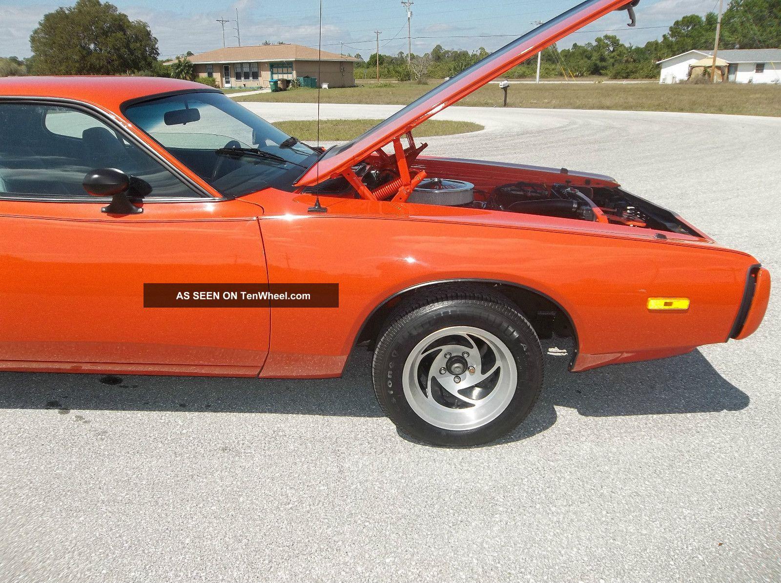 1973 Dodge Charger With Rebuilt 440 Torqueflite 3 Speed Transmission