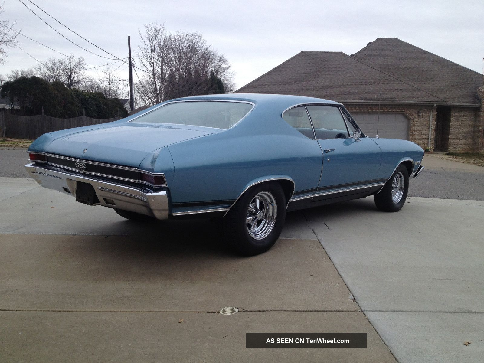 1968 Chevelle Ss396 4 Speed Numbers Matching