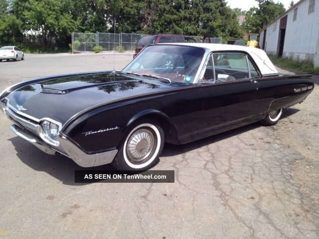1962 ford thunderbird. Cars Review. Best American Auto & Cars Review