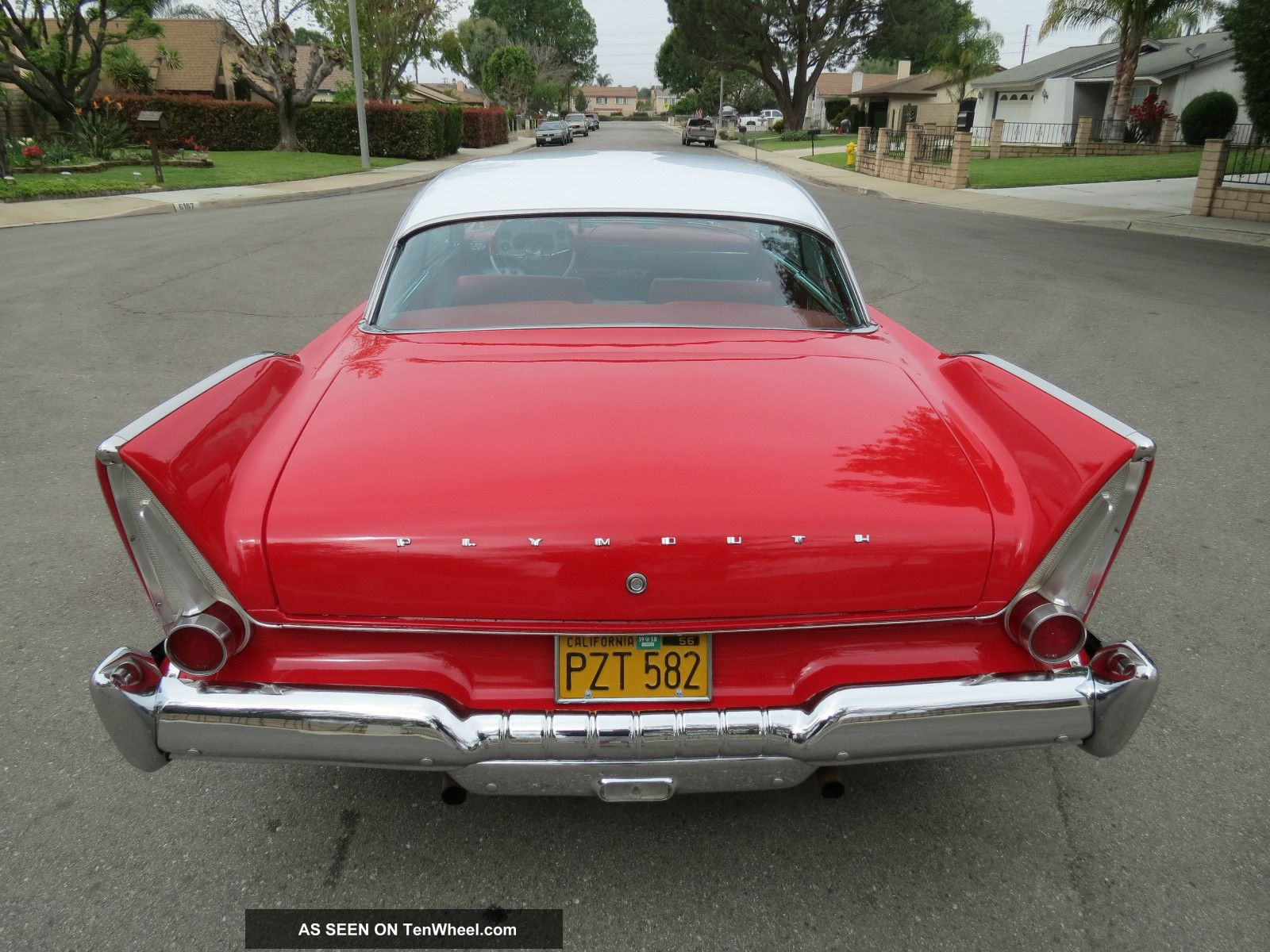 1958 Plymouth Belvedere Fury Christine Clone