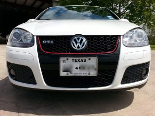 2006 Candy White Vw Gti 2.  0l Turbo 6 Speed photo