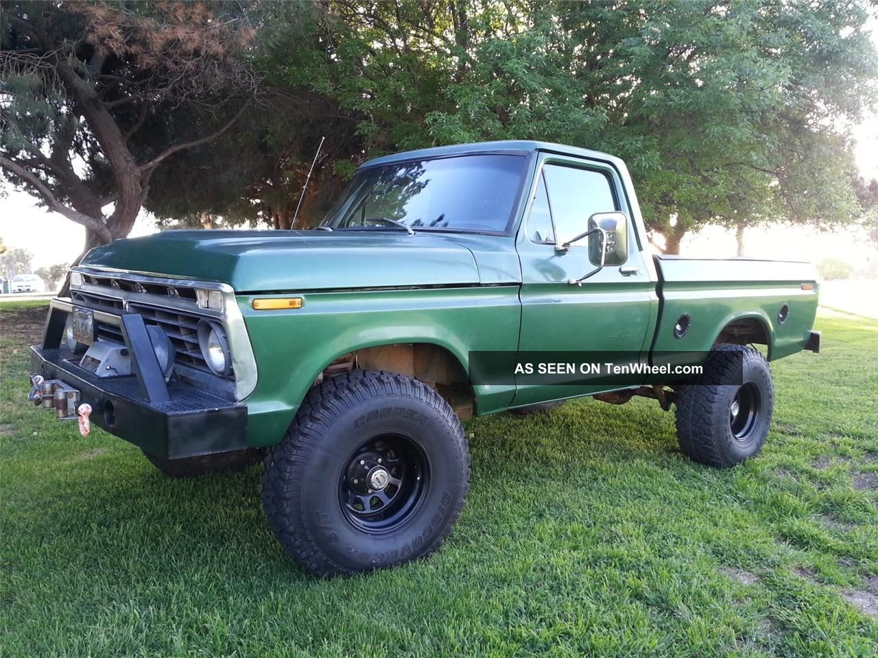 1973 ford f250 4x4 lift kit