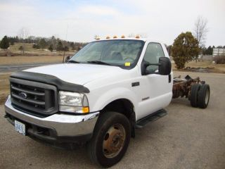 2003 Ford F550 Cab And Chassis photo