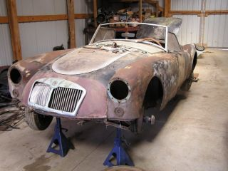 1957 Mg Mga Builders Apply Here photo