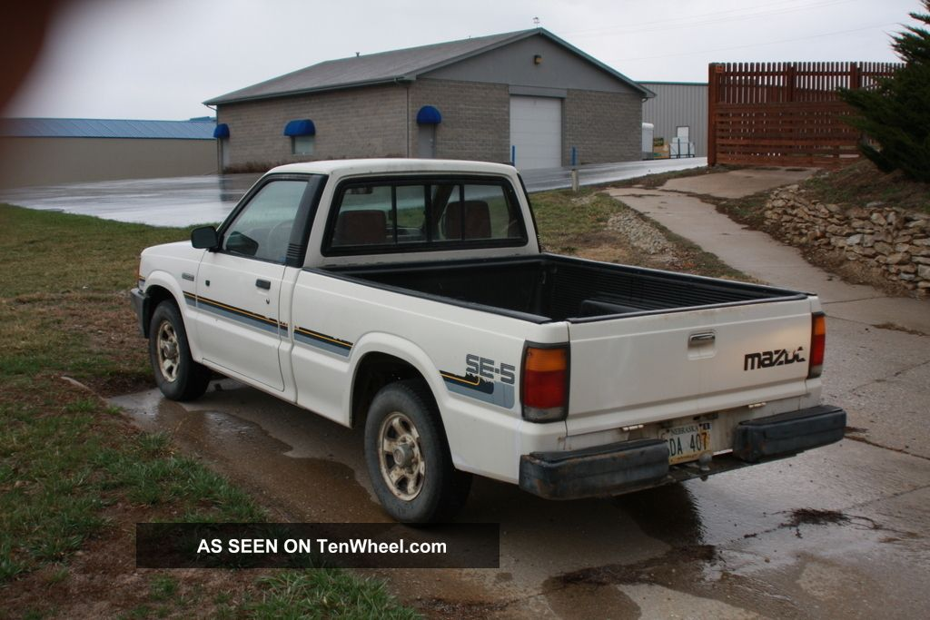 1988 Mazda B2200 Se - 5 Standard Cab Pickup 2