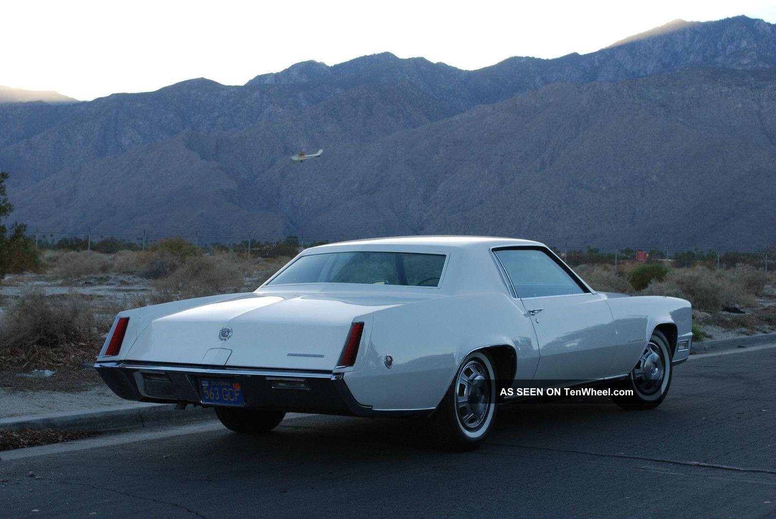 1968 Cadillac Eldorado Base Hardtop 2 Door 7 7l