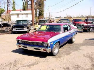 1969 Chevolet Nova 350 V8 W / Headers,  Automatic Transmission Custom Paint photo