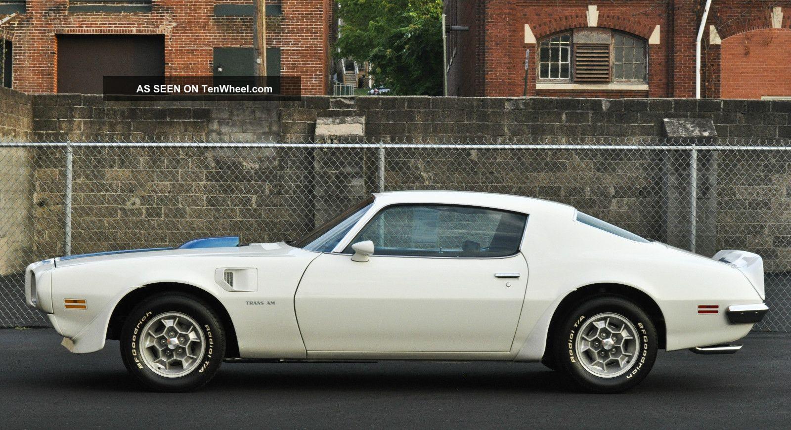 1970 1 2 Pontiac Trans Am Frame Off Restoration