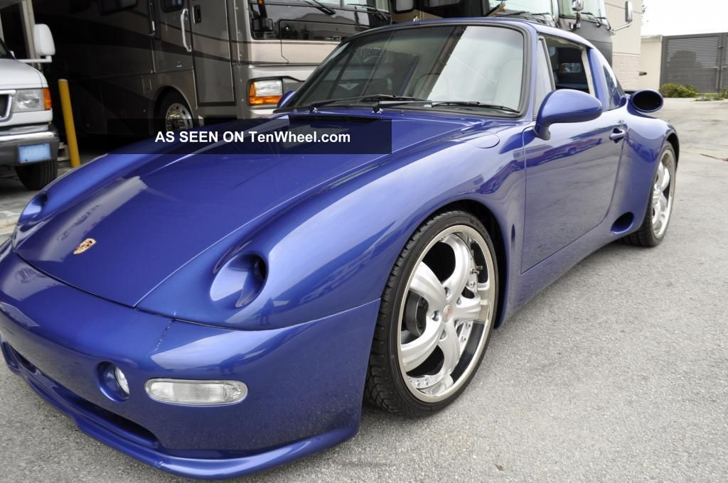 Porsche Targa Custum Strosek Wide Body Kit Lgw