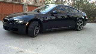 2010 Bmw M6 Cpe - Heads Up,  Soft Close Doors,  Carbon Fiber Interior,  Tinted Windows photo