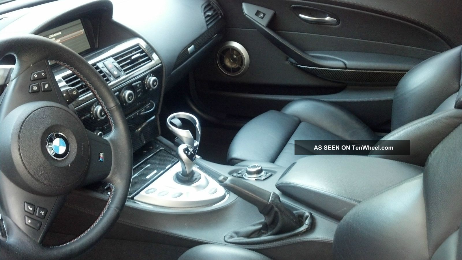 2010 Bmw M6 Cpe Heads Up Soft Close Doors Carbon Fiber Interior Tinted Windows
