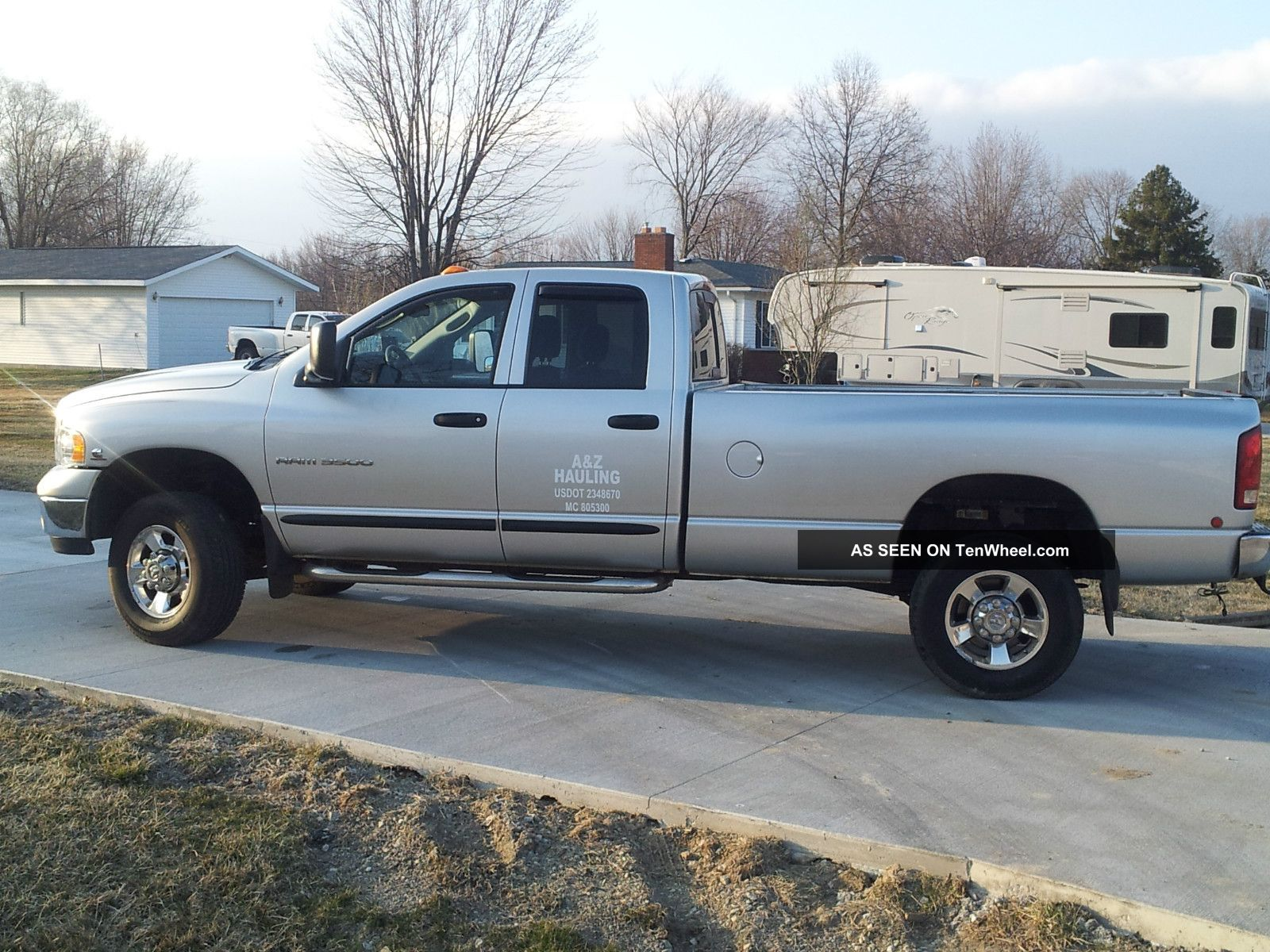 2005 dodge ram 3500 slt crew cab pickup 4 door 5 9l. Black Bedroom Furniture Sets. Home Design Ideas