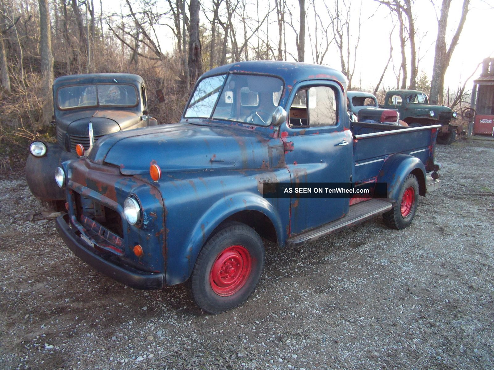 1952 Dodge Truck Rat Rod Project Barn Find Rare 1954 Pickup Other Pickups Photo 6