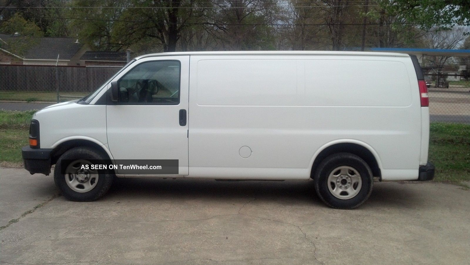 2005 chevrolet express 1500 fleet van cargo white chevy. Cars Review. Best American Auto & Cars Review
