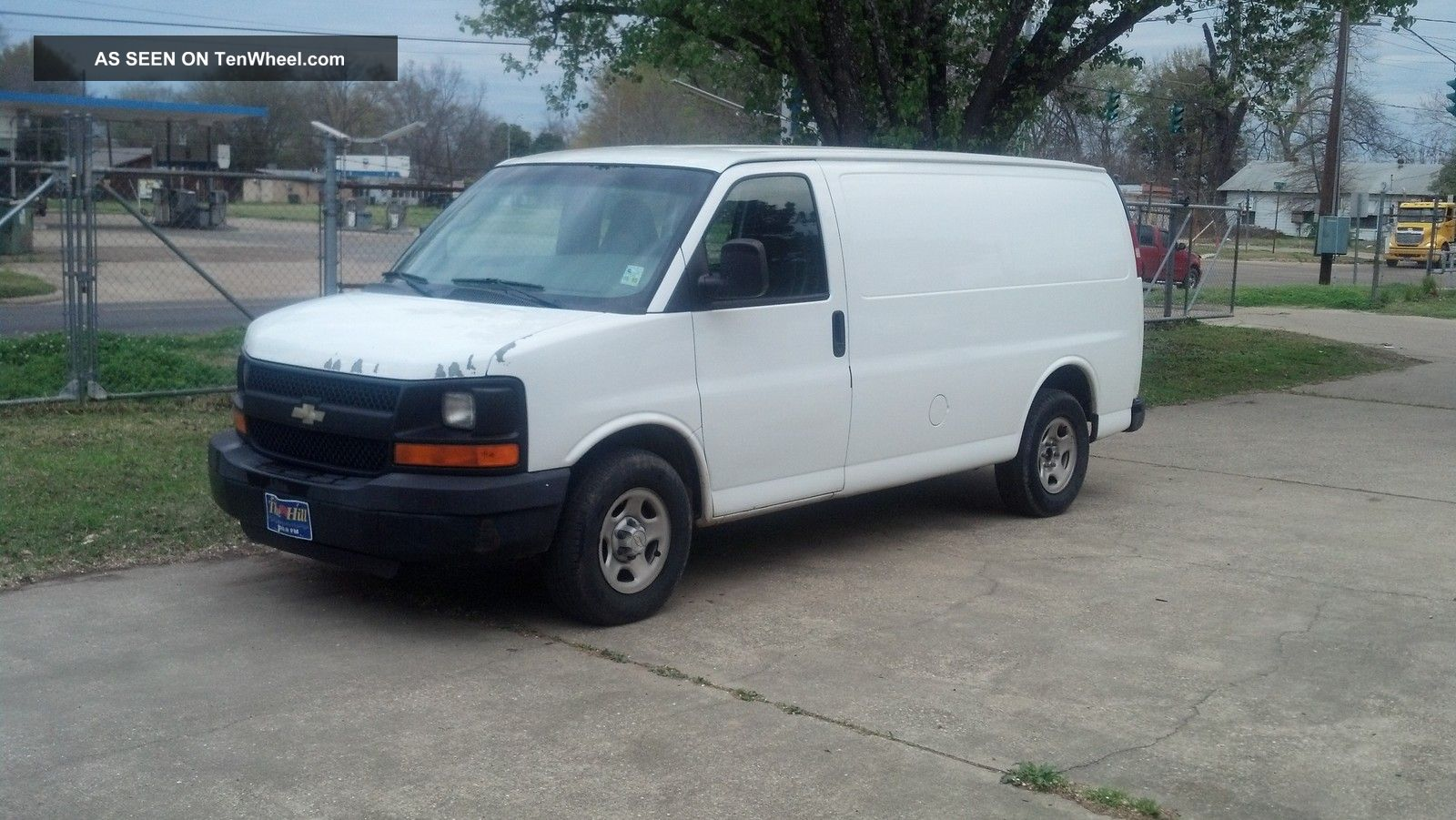 2005 chevrolet express 1500 fleet van cargo white chevy. Black Bedroom Furniture Sets. Home Design Ideas