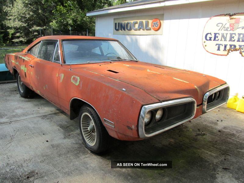 1970 Dodge Coronet Bee 383 Four Speed Ramcharger Hood Sublime