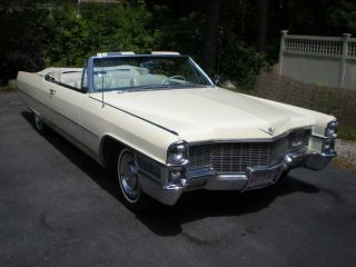 1965 Cadillac Convertible All Survivor Great Find photo