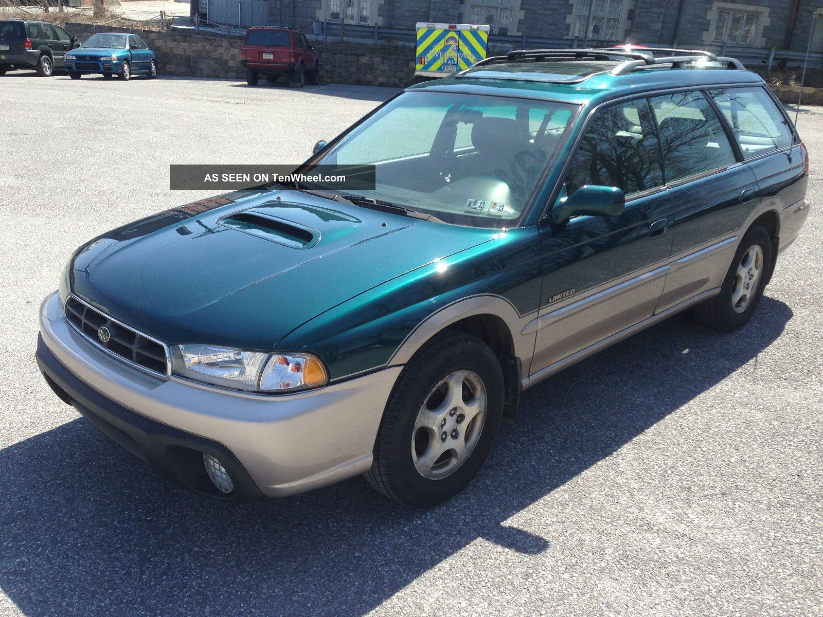 Jeep Cherokee Color Options 1999 Subaru Legacy Outback Limited Wagon 4 - Door,