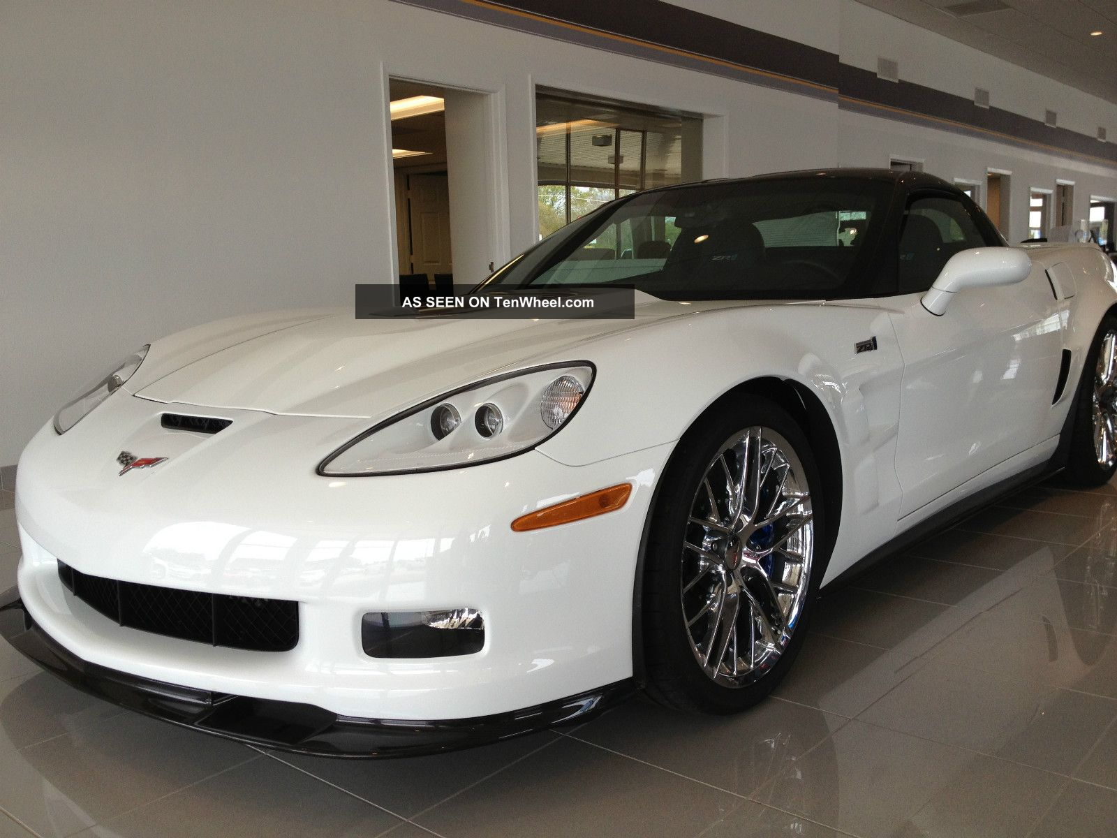 2010 Chevrolet Corvette Zr1 Coupe 2 - Door 6.  2l Corvette photo