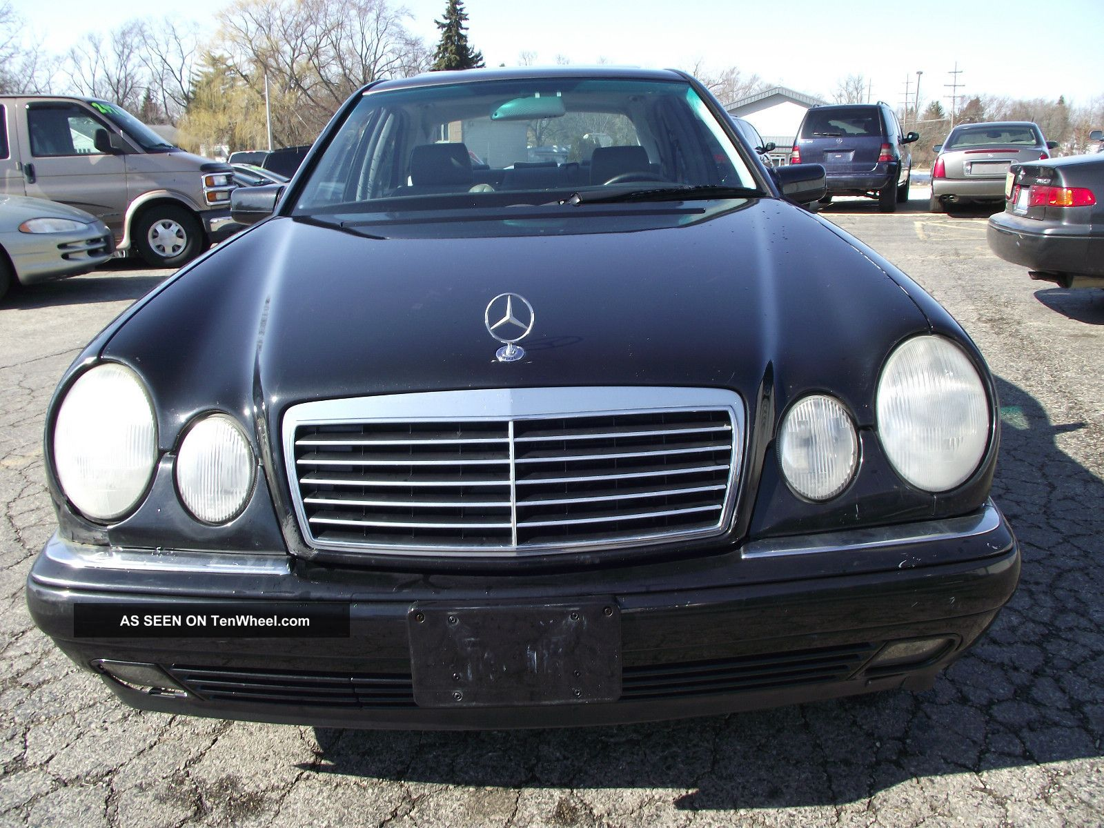 1999 mercedes benz e430 runs well books some rust