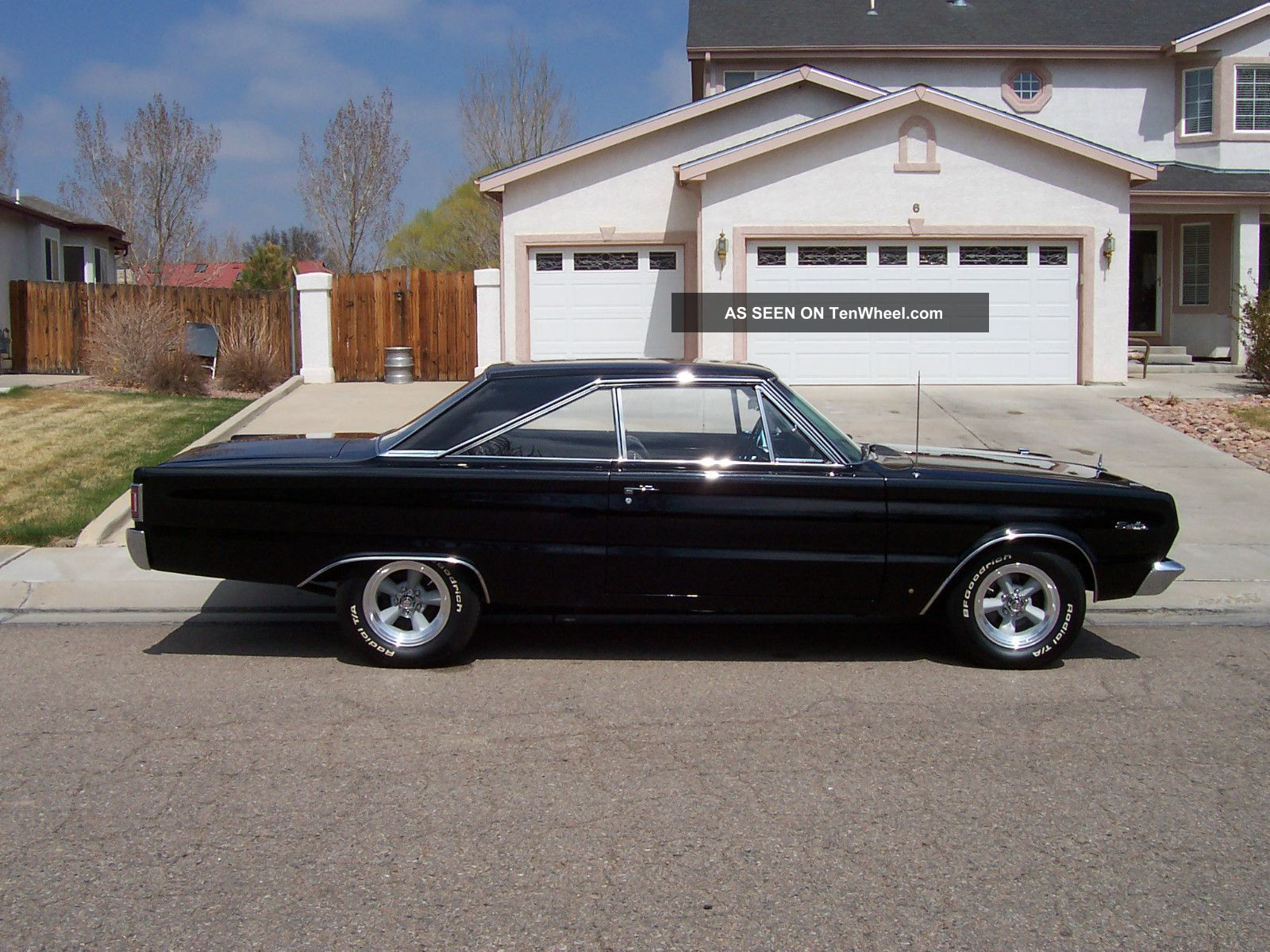 1967 Plymouth Satellite 2 Door Big Block A C Show
