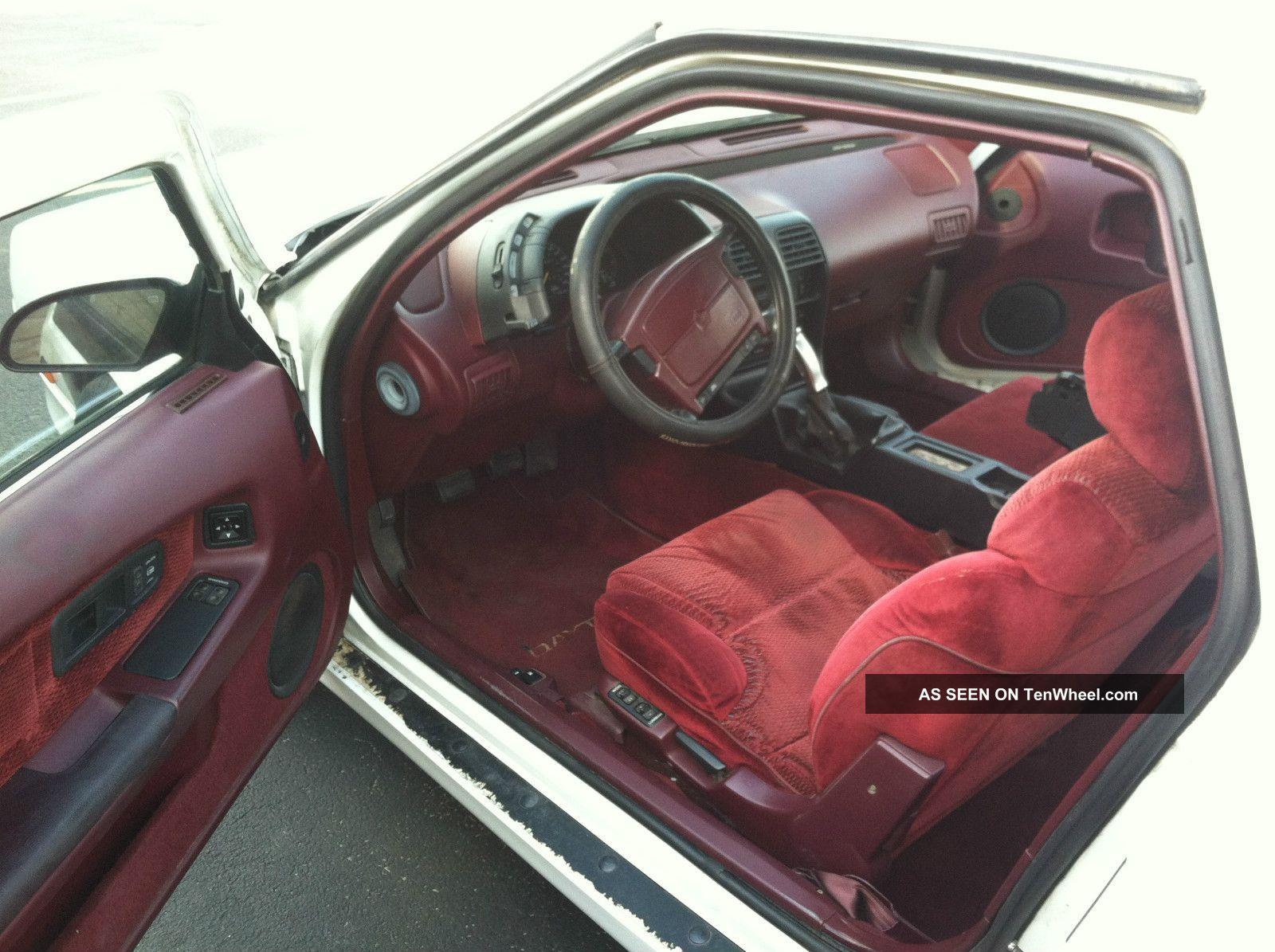 Dodge Daytona Shelby Hatchback Door L Vnt Turbo Lgw
