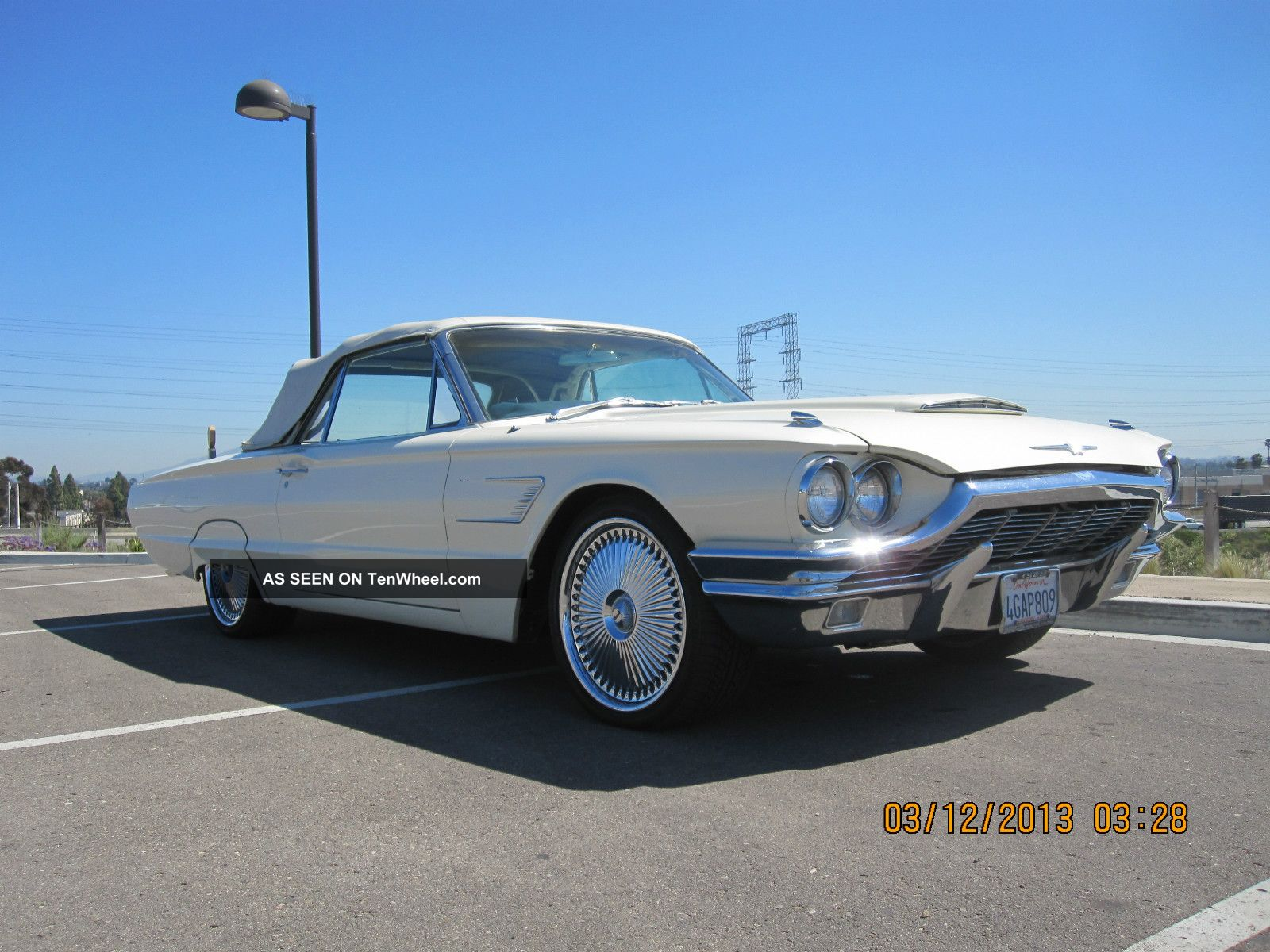 1965 ford thunderbird convertible show. Cars Review. Best American Auto & Cars Review