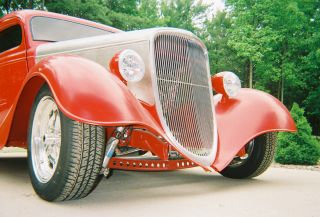 1933 Ford 3 Window Coupe All Steel photo