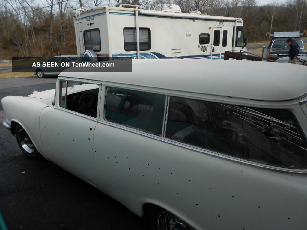 1957 Chevrolet Bel Air 2 Door Station Wagon Nomad Great Hot Rod Or Chevy Rat