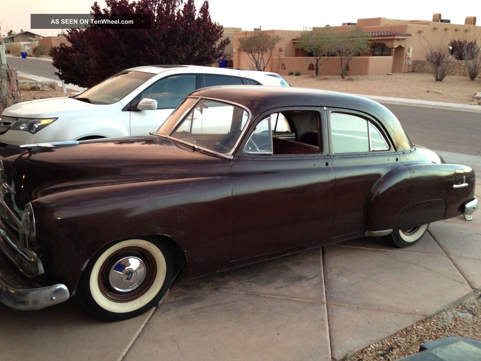 1951 Chevy Bel Air 150 210 Hot Rod Rat Kustom Classic Cadillac Lead Sled