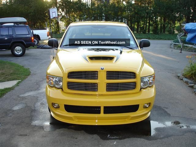 2005 dodge ram 1500 srt 10 standard cab pickup 2 door 8 3l. Black Bedroom Furniture Sets. Home Design Ideas