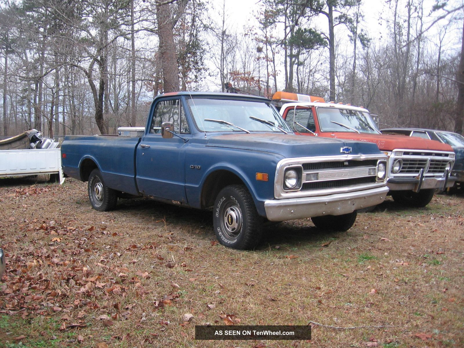 1969 Chevy Truck C10 Lwb 250 3 Speed 2 Owners
