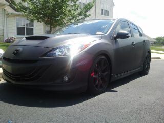 2010 Mazdaspeed3 Fully Bolted Fast Lowered Fmic Cai Turbo Speed 3 Plasti Dip photo