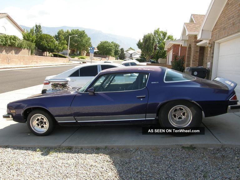 1976 Chevy Camaro 402 Blown
