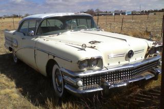 1958 Buick Century 4dr Hdtp Running photo