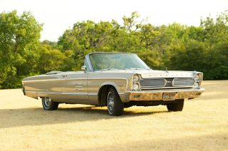 1966 Plymouth Sport Fury Convertible - - Full - Size Muscle C - Body Big Block 383 photo