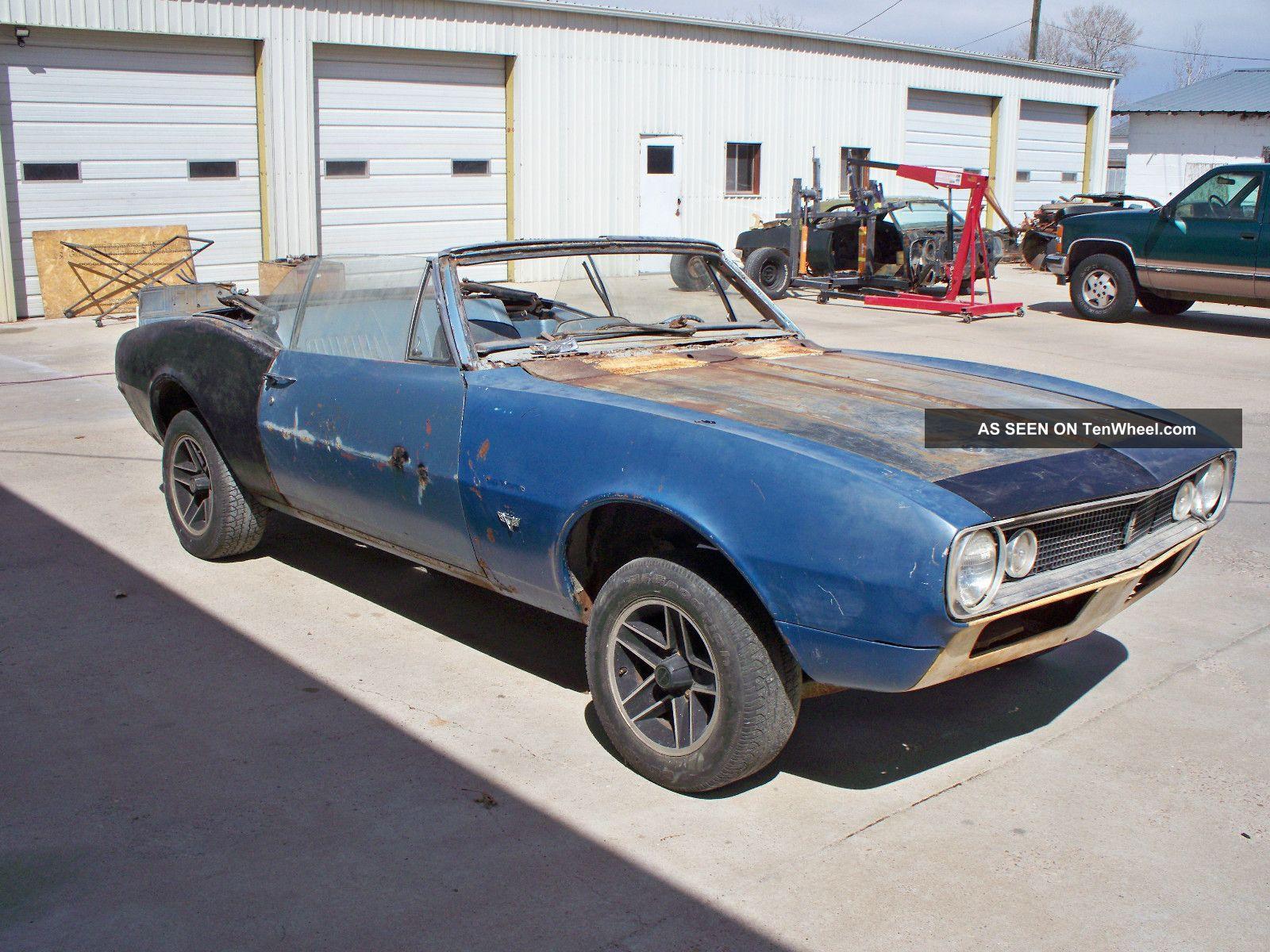 1967 Camaro Convertible Custom Pro Touring Hot Rod Project Car