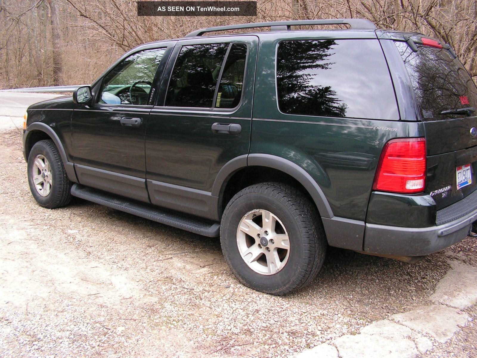 2003 ford explorer xlt sport utility 4 door 4 0l w extra set of wheels tires